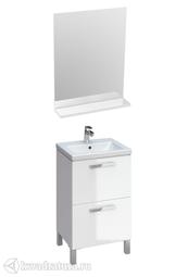 Комплект мебели для ванной Cersanit Melar 50 белый
