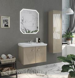 Комплект мебели для ванной Comforty Кремона 80 латте