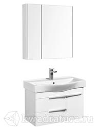 Комплект мебели для ванной Акватон Беверли 80 белый