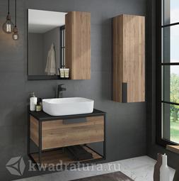 Комплект мебели для ванной Comforty Кёльн 75 дуб темный