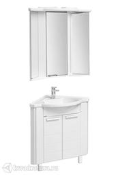Угловой комплект мебели для ванной Акватон Альтаир 60 белый