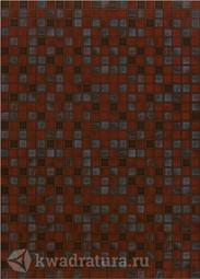 Настенная плитка Березакерамика Квадро бордо 25х35 см