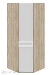 Шкаф угловой Ларго  дверь с зеркалом