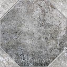 Напольная плитка Березакерамика Ливорно серый 41,8х41,8 см