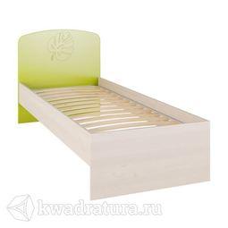Маугли Кровать бежевая/зеленая
