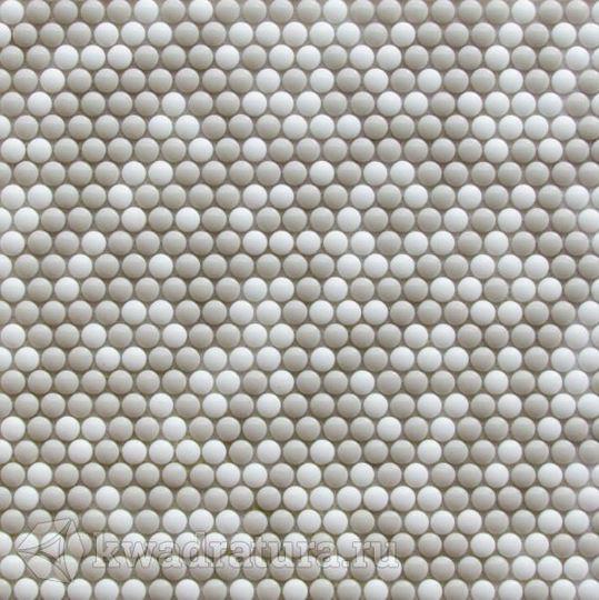 Мозаика стеклянная Bonaparte Pixel cream 32,5х31,8