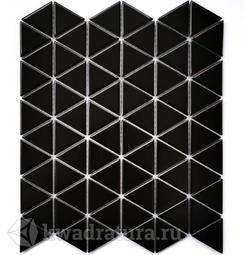 Мозаика керамогранитная Bonaparte Reno black (Matt) 25,2х29,1