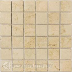 Мозаика керамогранитная Bonaparte Status beige 30х30
