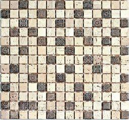 Мозаика каменная Bonaparte Milan-1 30,5x30,5