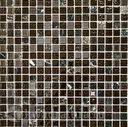 Мозаика стеклянная c камнем Bonaparte Alana 30х30