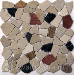 Мозаика каменная Bonaparte Rim II 30,5х30,5