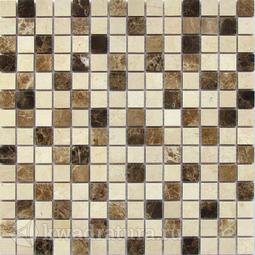 Мозаика каменная Bonaparte Turin-20 (Pol) 30,5x30,5