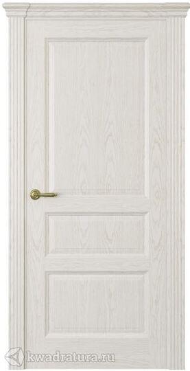 Межкомнатная дверь Океан Марсель ДГ ясень белый жемчуг