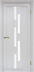 Межкомнатная дверь OPorte Турин 551 ясень серебристый