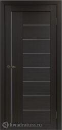 Межкомнатная дверь OPorte Турин 524 АПП Венге кромка алюминиевая