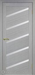 Межкомнатная дверь OPorte Турин 506U Дуб серый