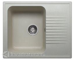 Кухонная мойка Polygran F-07 Серая