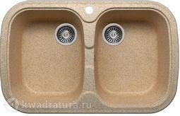 Кухонная мойка Polygran F-150 Песочная