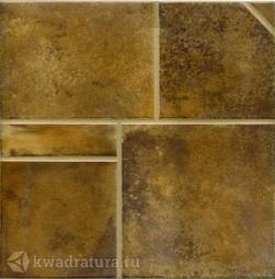 Напольная плитка М-Квадрат Наварро коричневый 33х33 см