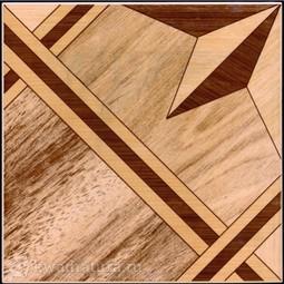 Напольная плитка М-Квадрат Паркет Орфей песочный 33х33 см