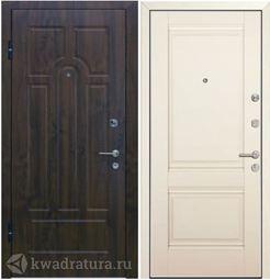Дверь входная Профильдорс М41 1U Сатинат Магнолия