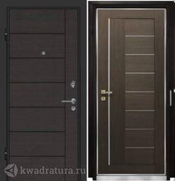 Дверь входная Профильдорс ST18 7Х Венге мелинга