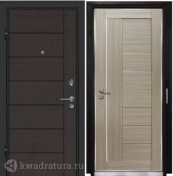 Дверь входная Профильдорс ST18 7Х Капучино мелинга