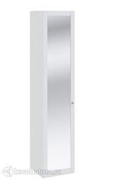 Шкаф Ривьера для белья с зеркальной дверью 450