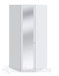 Шкаф Ривьера для одежды с зеркальными дверями  450