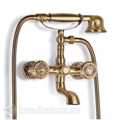 Смеситель для ванны и душа Bronze De Luxe 10119 Royal