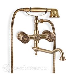 Смеситель для ванны и душа Bronze De Luxe 10119D Royal