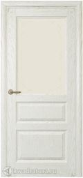 Дверь межкомнатная Самшит СТ дуб белый жемчуг