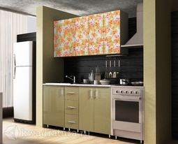 Кухонный набор Селена №311 Хаки 1400 мм