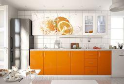 Кухонный набор Селена №28 Апельсин 2400 мм