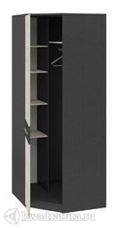 Шкаф угловой Сити с глухой дверью