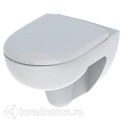 Унитаз подвесной безободковый Geberit Renova сиденье микролифт