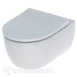 Унитаз подвесной безободковый Geberit Icon T54 сиденье микролифт