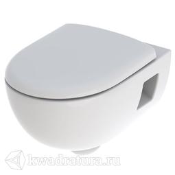 Унитаз подвесной безободковый Geberit Renova T54 сиденье микролифт