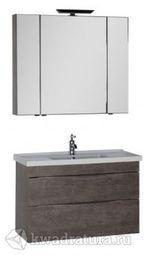 Набор мебель для ванной Aquanet Эвора 100 дуб антик