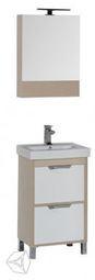 Набор мебели для ванной Aquanet Гретта 50 белый/дуб светлый