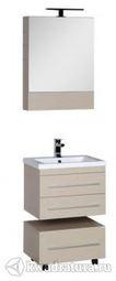 Набор мебель для ванной Aquanet Нота 58 светлый дуб