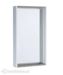 Зеркало Акватон Бэлла 45 белое с подсветкой