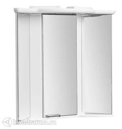 Угловой зеркало-шкаф Акватон Альтаир 60 белый с подсветкой