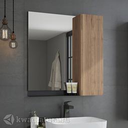 Зеркало-шкаф Comforty Кёльн 75 дуб темный