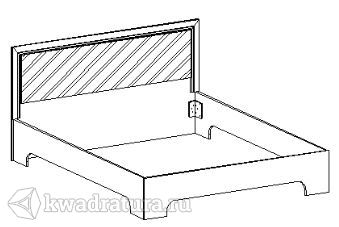 Спальня Паула Кровать 2000х1600