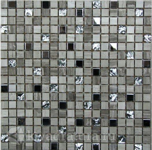 Мозаика каменная Bonaparte Tokyo 30.5x30.5
