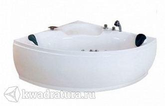 Ванна акриловая Loranto с гидромассажем CS 820 140х140х60