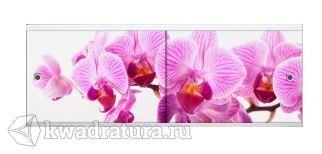 Экран для ванны Метакам Дикая орхидея 1,48