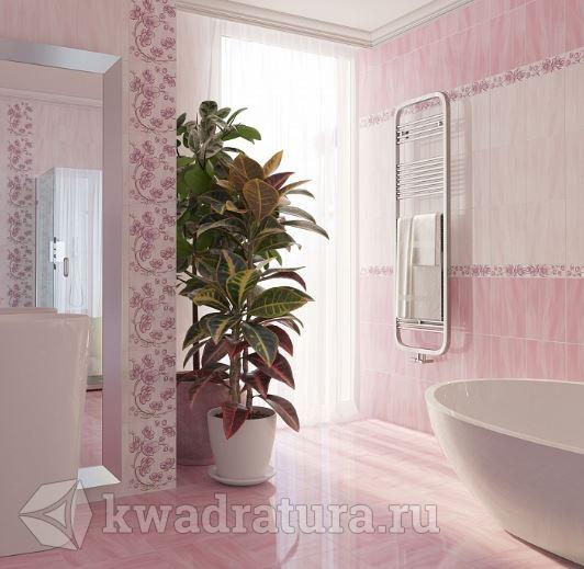 Плитка ВКЗ Агата розовая
